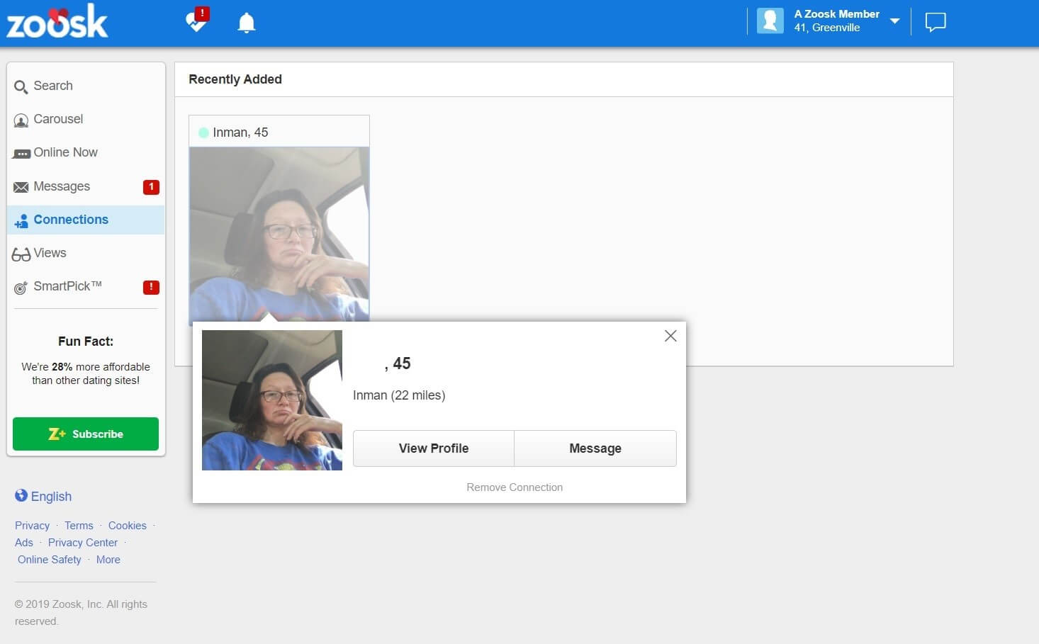 Zoosk - Make new connections