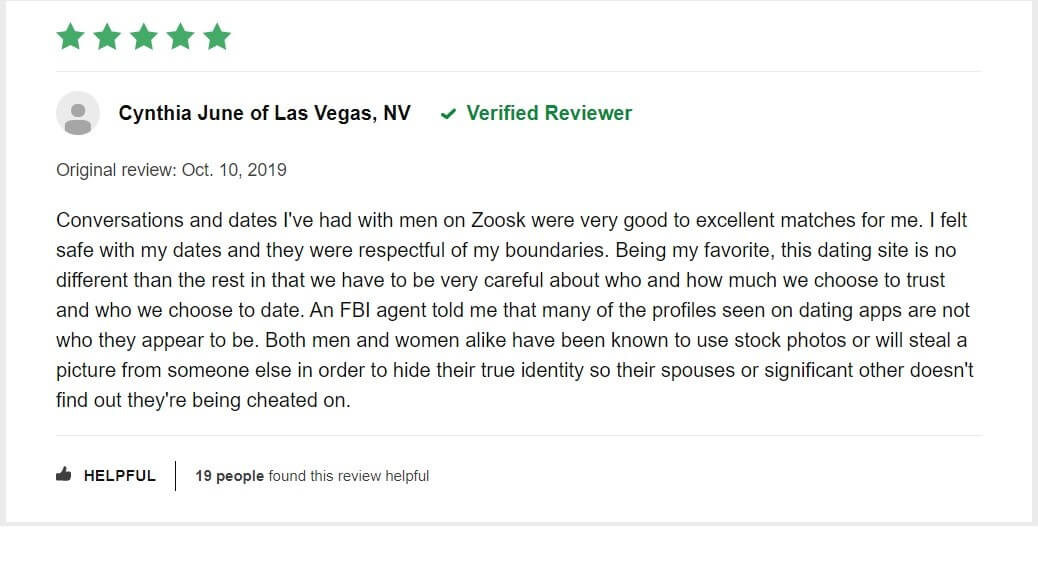 Zoosk - Reviews2