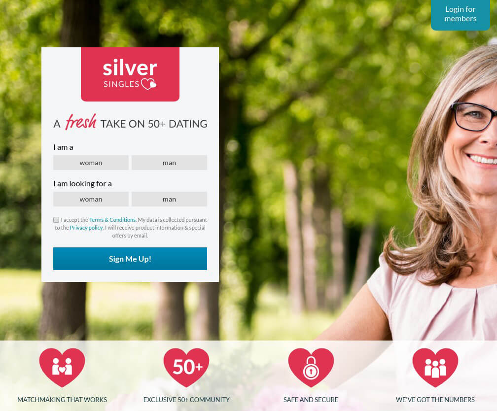 silver dating over fifty